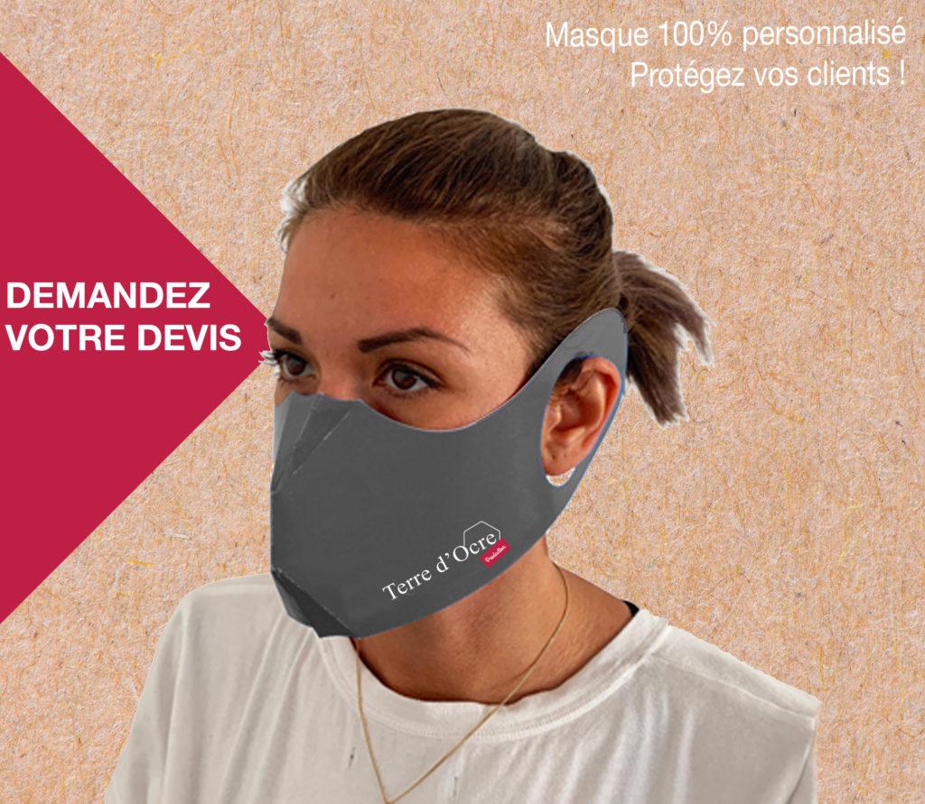 masque personnalise covid